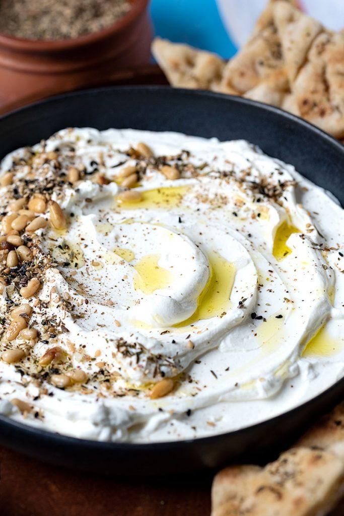 Φτιάξτε σπιτικό τυρί κρέμα από γιαούρτι (Labneh) 4