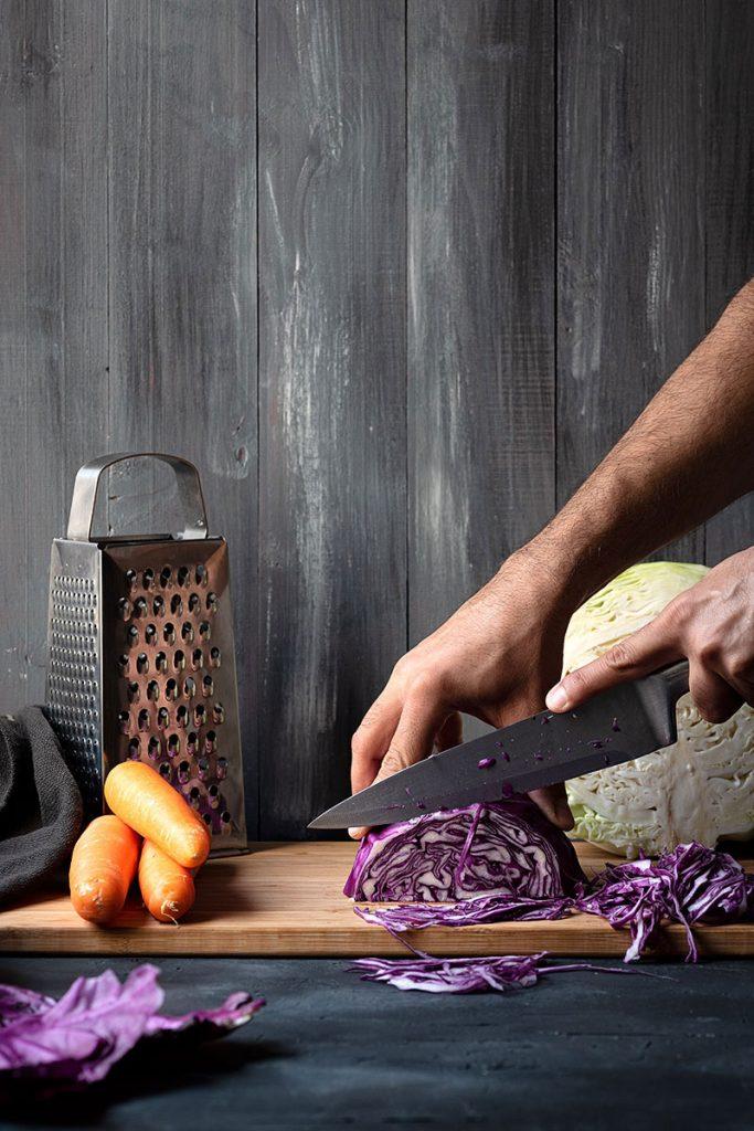 Εύκολη λαχανοσαλάτα με καρότο 1