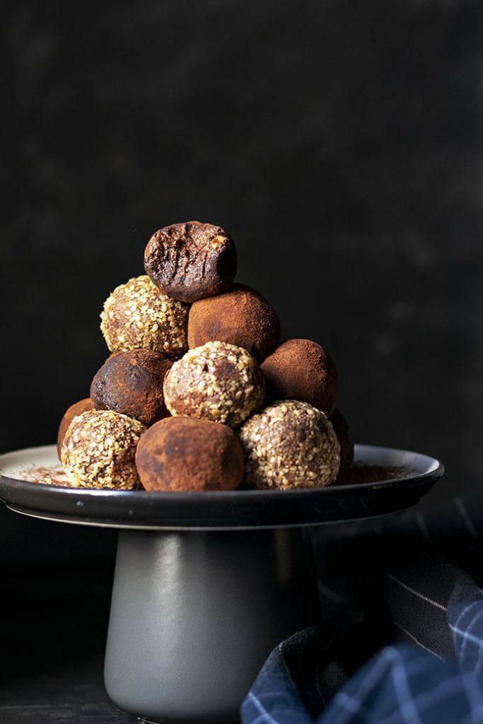 Υγιεινά τρουφάκια σοκολάτας (νηστίσιμα – βίγκαν)
