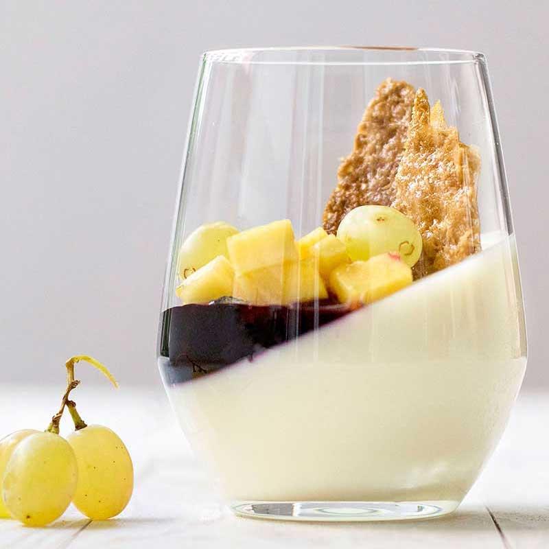 Μεσογειακά γλυκά κρασιά και πανακότα