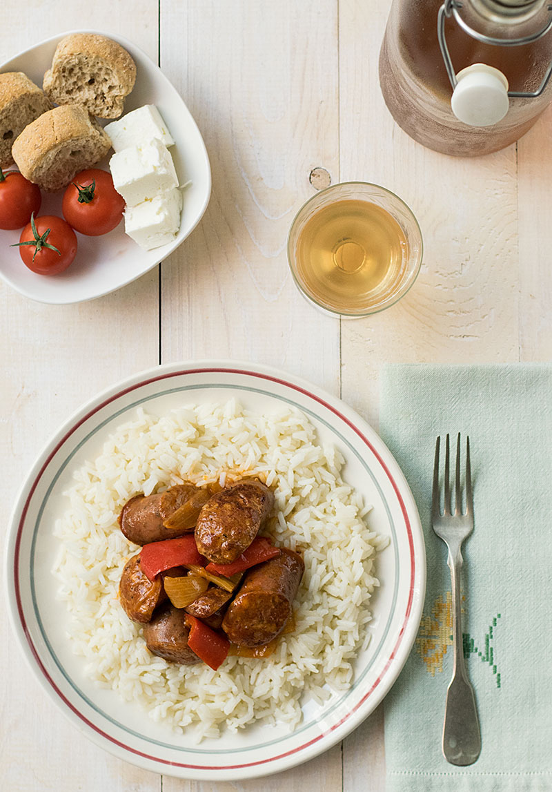 30_minute_sausage_pepper_stew_spejofae