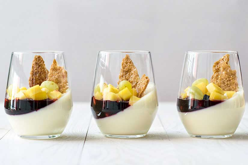 sweet wine panna cotta 3