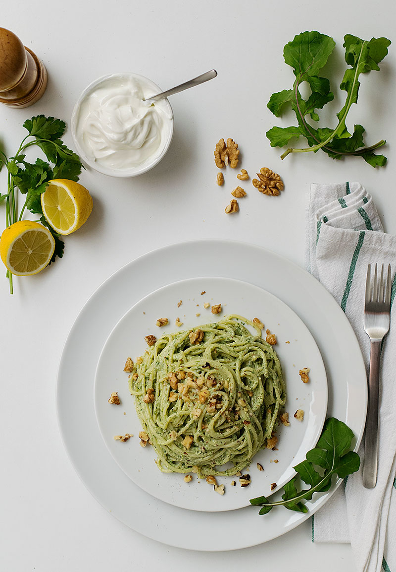 detox-pasta-with-creamy-spinach-pesto