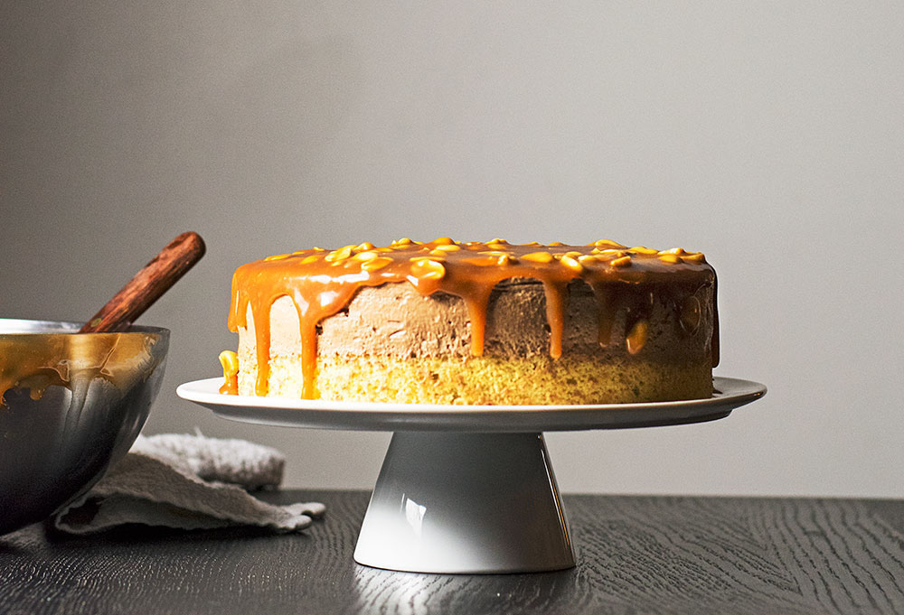 mocha-caramel-and-peanuts-mousse-cake-2