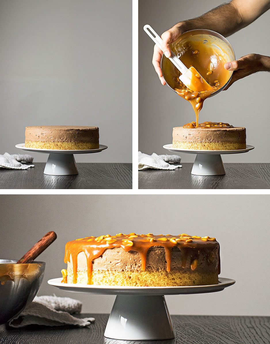 mocha-caramel-and-peanuts-mousse-cake-6