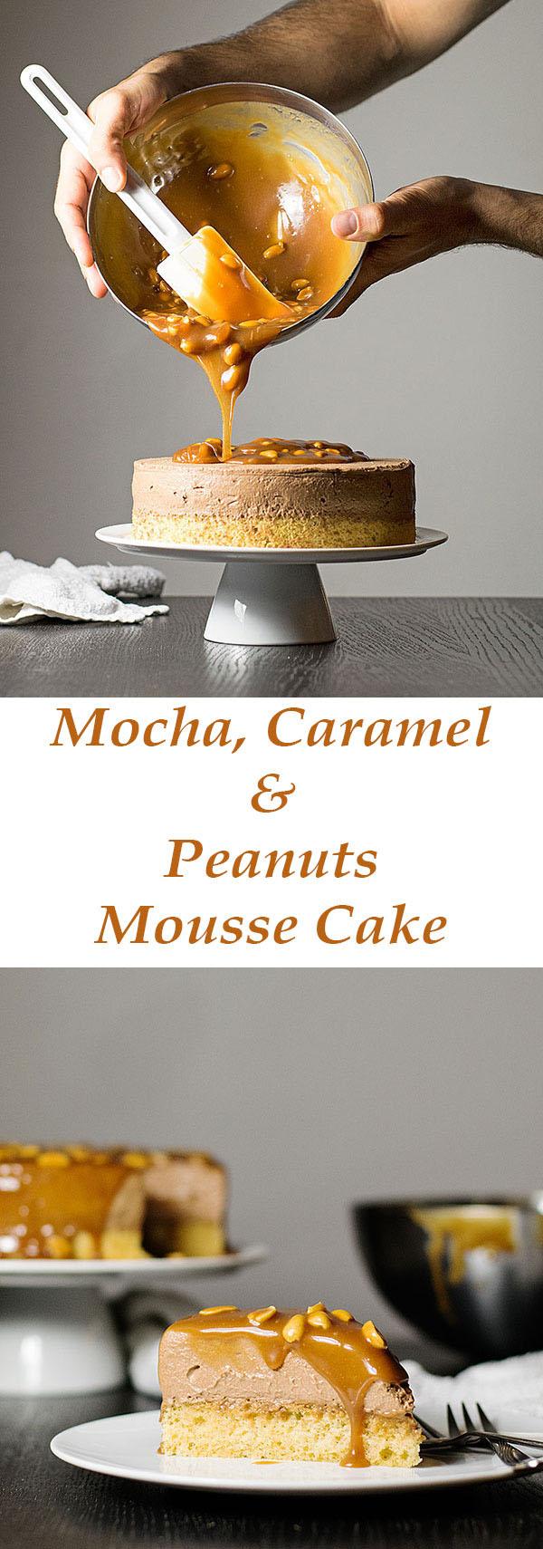 mocha-caramel-and-peanuts-mousse-cake-8