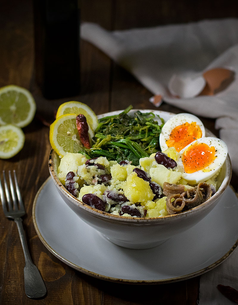 potato-mash-with-red-beans-egg-and-mustard-greens-2