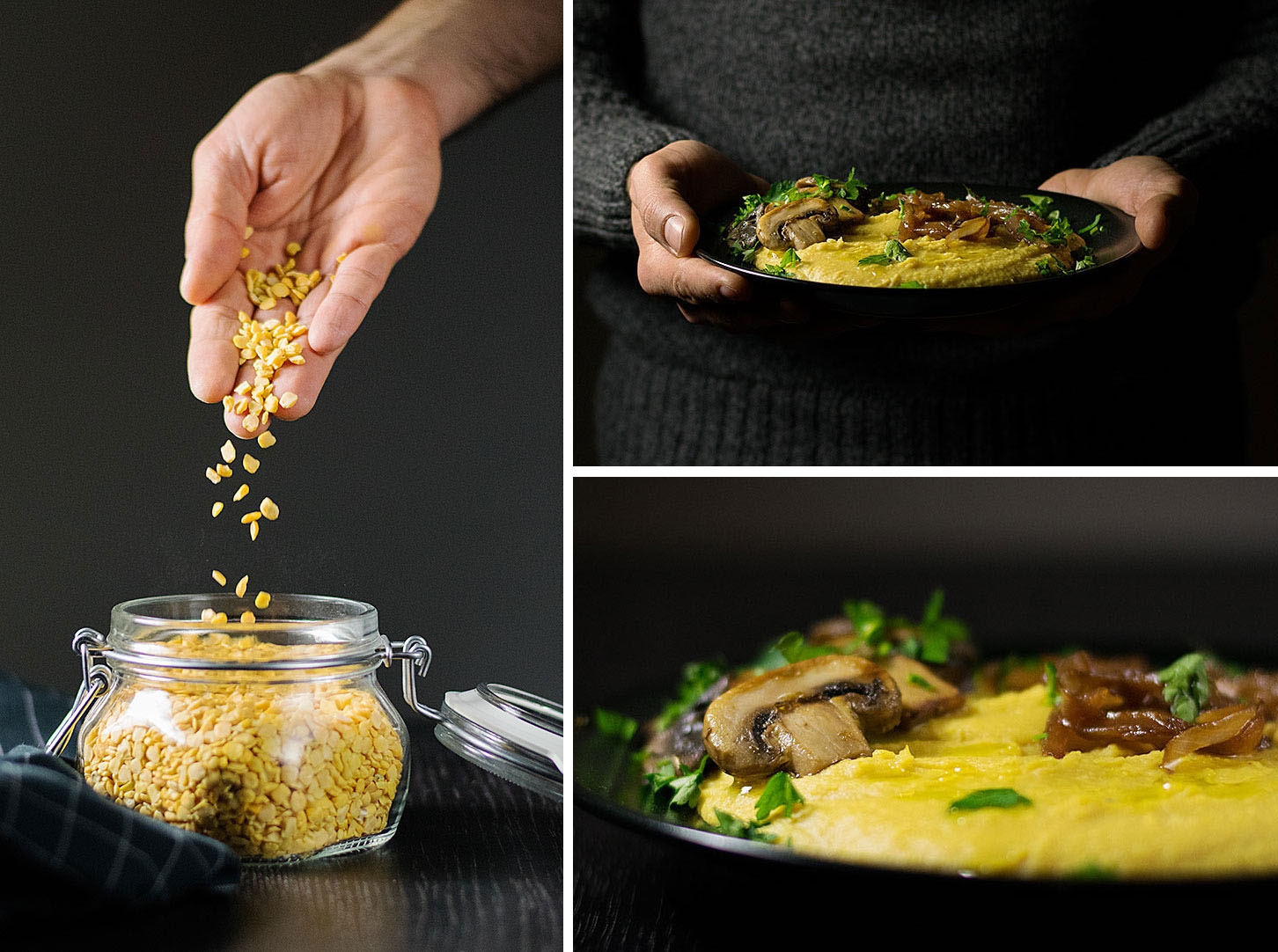 yellow-split-pea-purée-with-mushrooms-and-caramelized-onions-4
