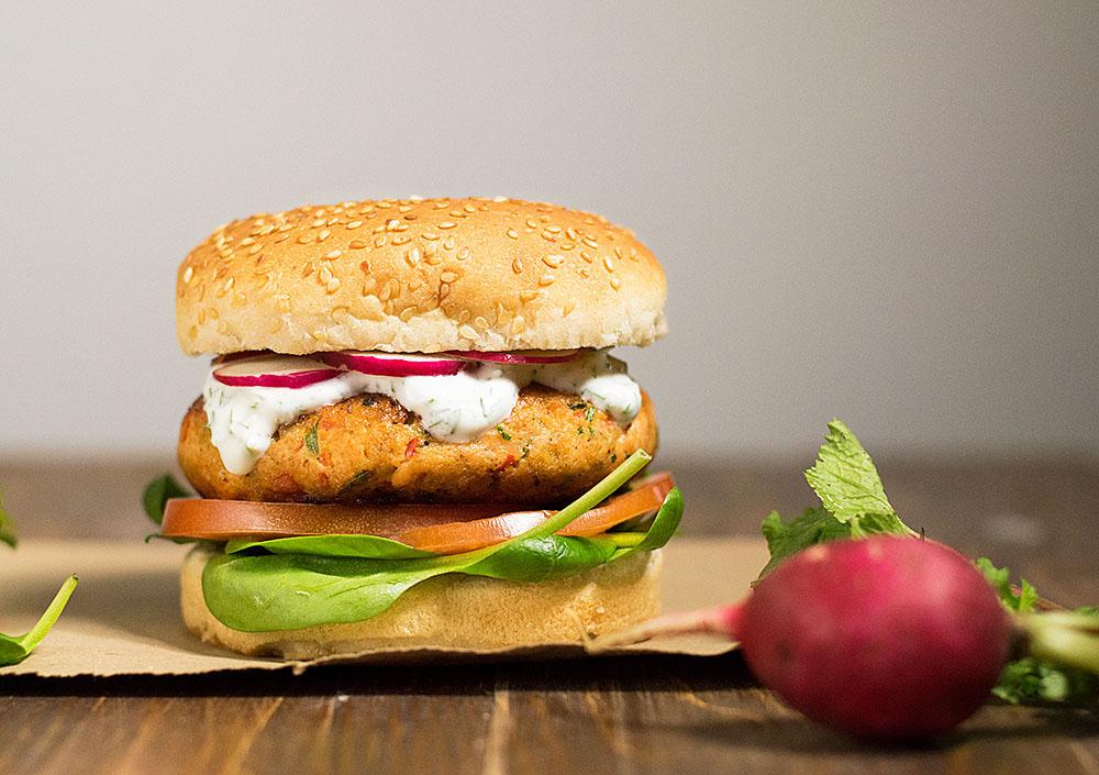 healthy salmon burgers 1