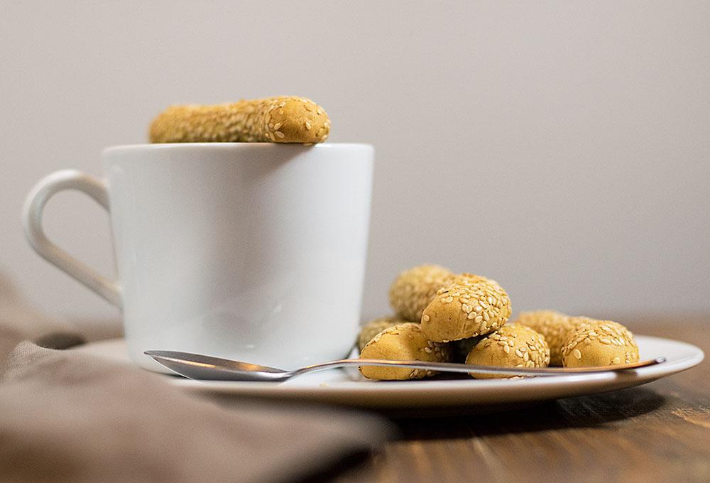 sesame olive oil cookies 2