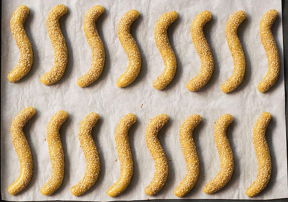 sesame olive oil cookies 3