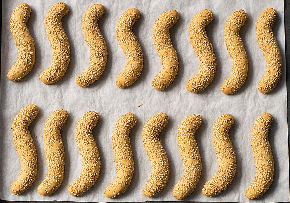 sesame olive oil cookies 4