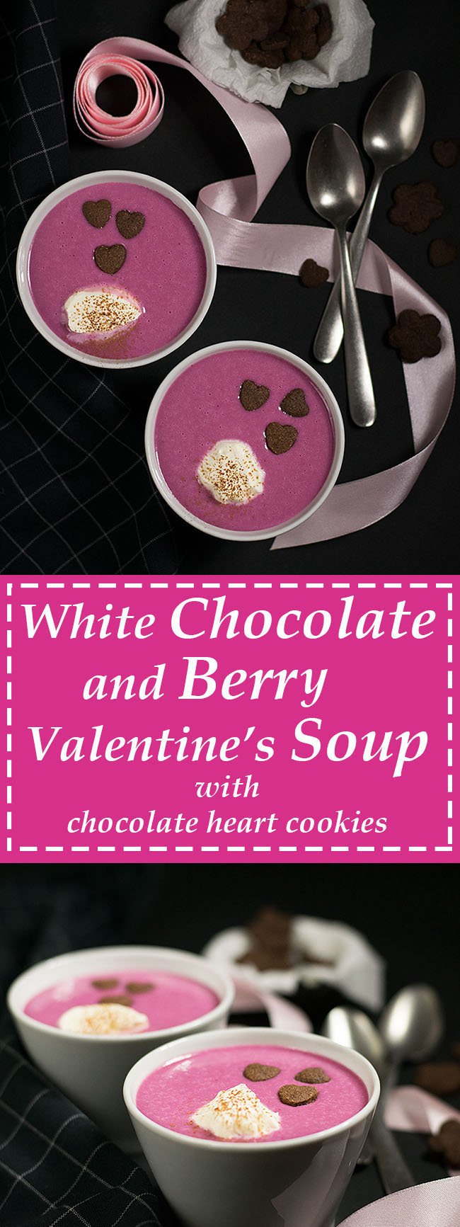 white chocolate & berry Valentine's soup 6