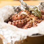 easy baked octopus in foil 1