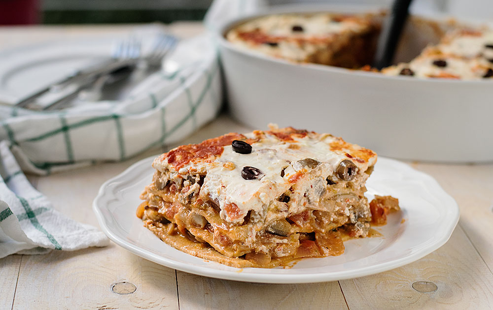 vegetarian fake lasagna casserole 2