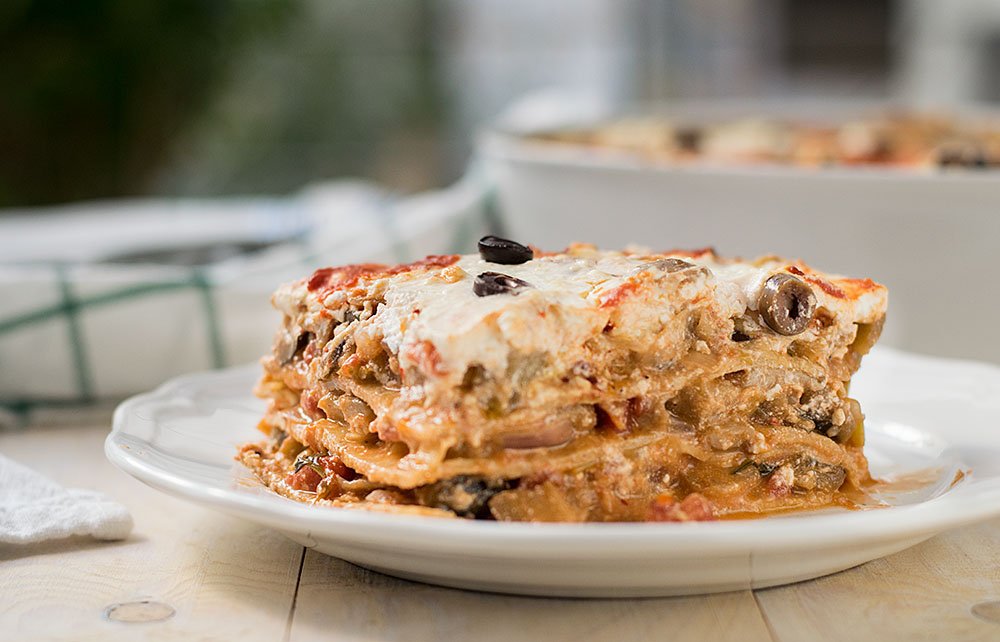 vegetarian fake lasagna casserole 3