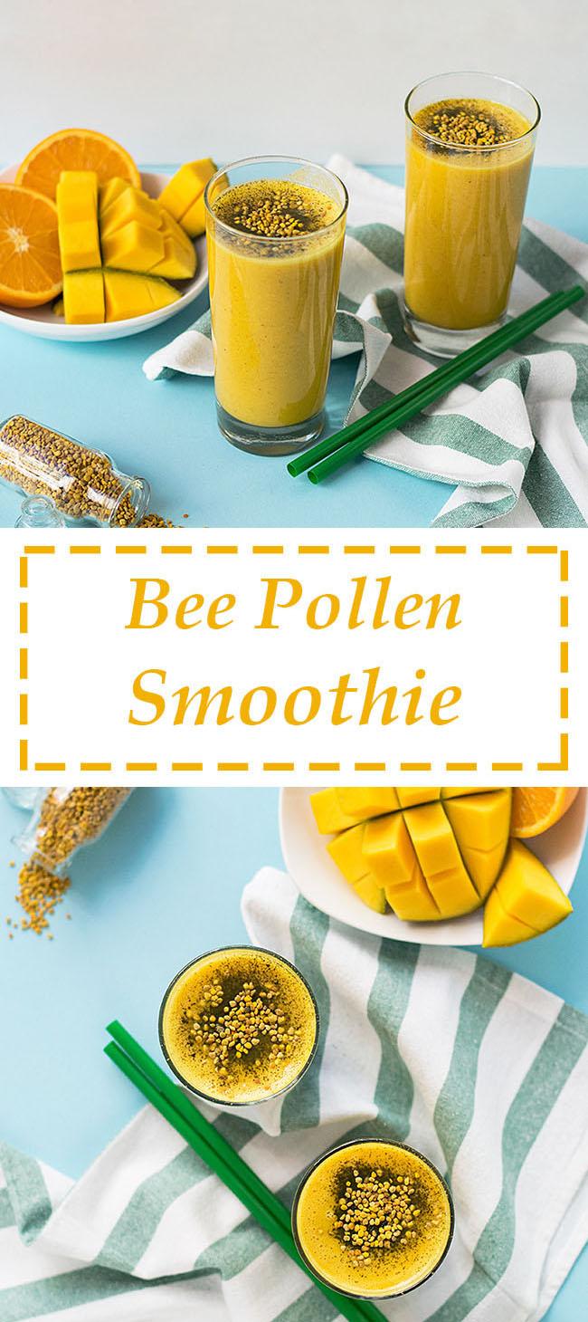 Bee pollen smoothie 5