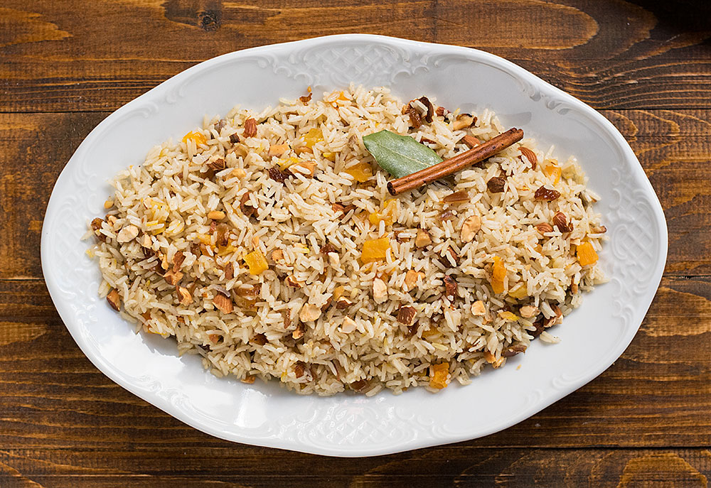 Moroccan rice (pilaf) 1