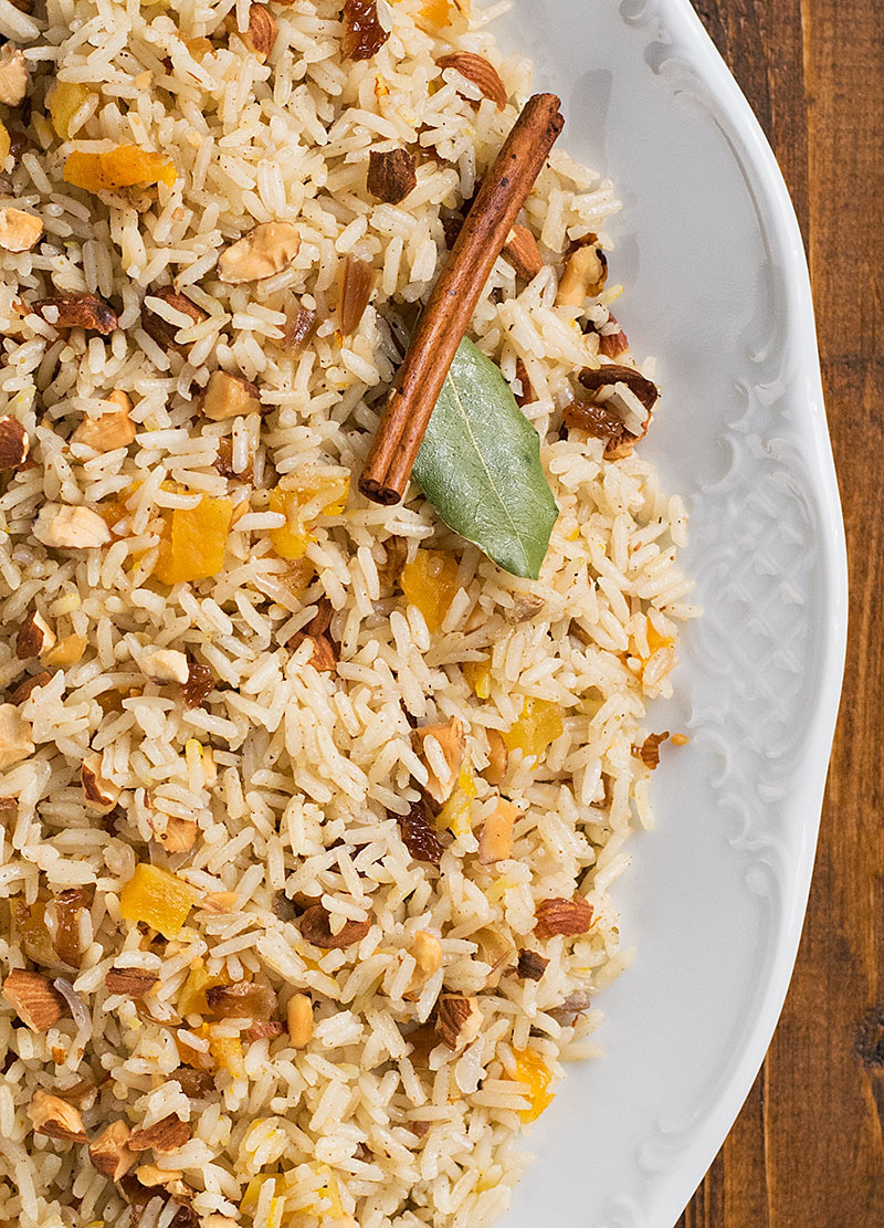 Moroccan rice (pilaf) 2