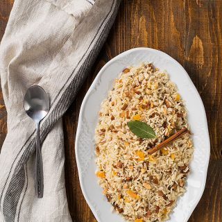 Moroccan rice (pilaf)