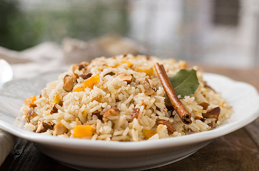 Moroccan rice (pilaf) 5