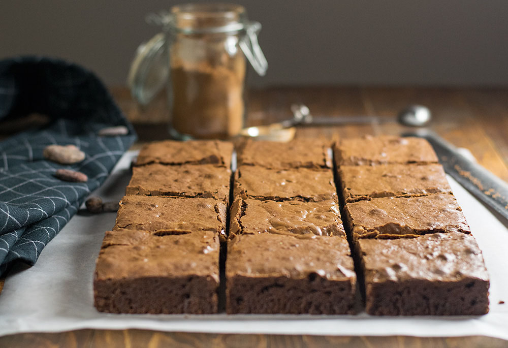 Melt in your mouth olive oil brownies 3
