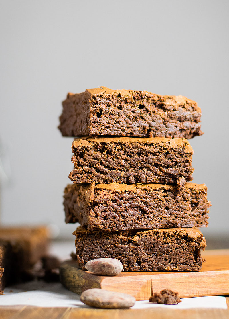 Melt in your mouth olive oil brownies 4