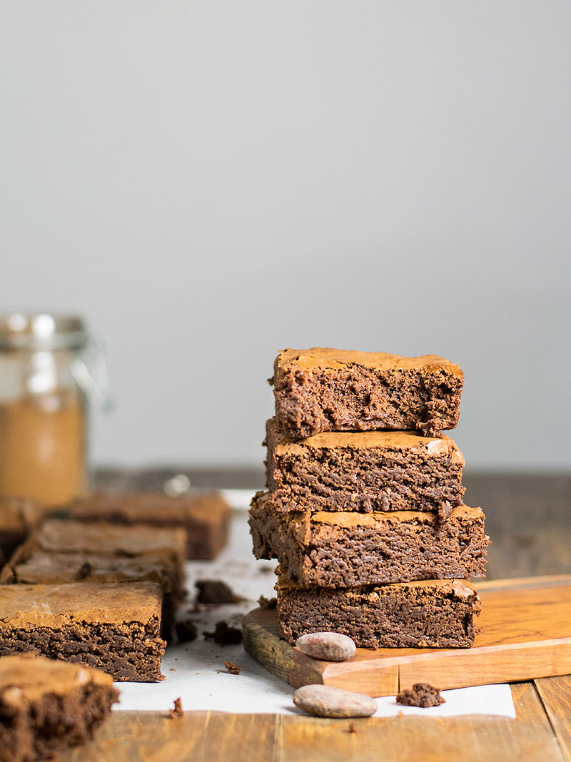 Melt in your mouth olive oil brownies 5