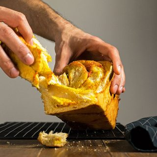 Goji berry, saffron & white chocolate babka 2