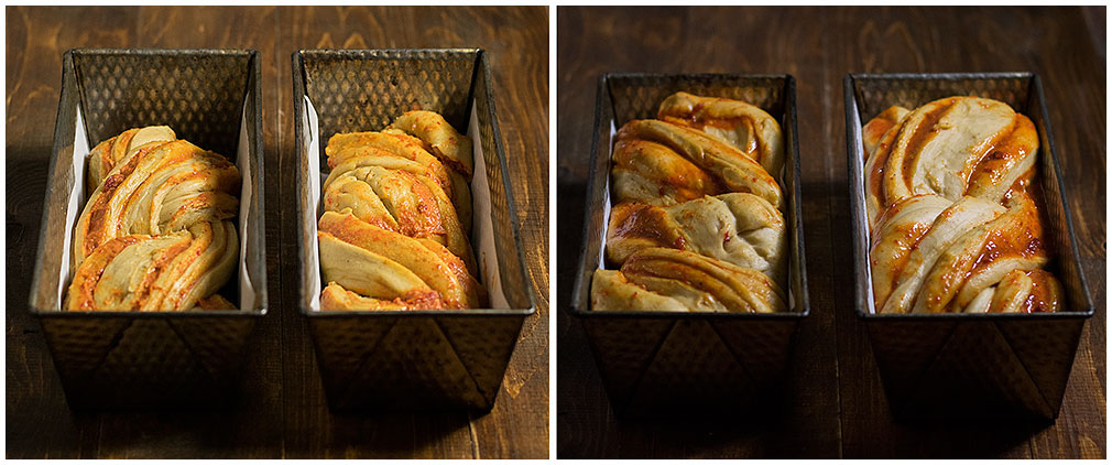Goji berry, saffron & white chocolate babka 6