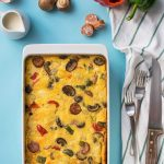 Greek oven baked frittata 2