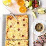 Croissant dough pizza 4