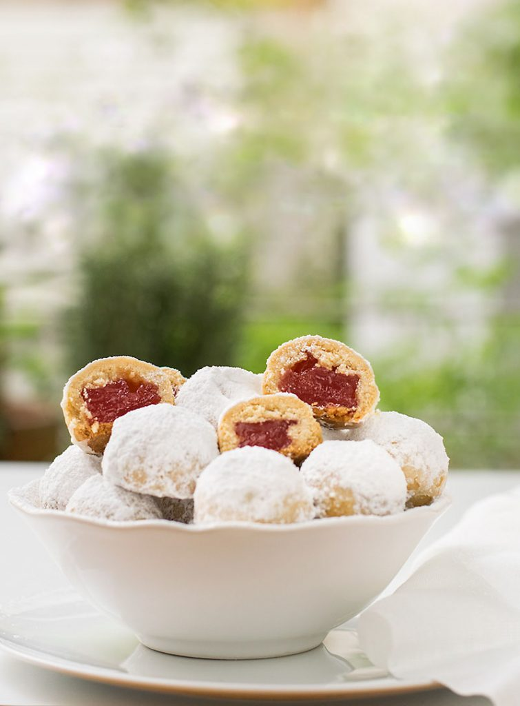 Turkish delight filled cookies 4