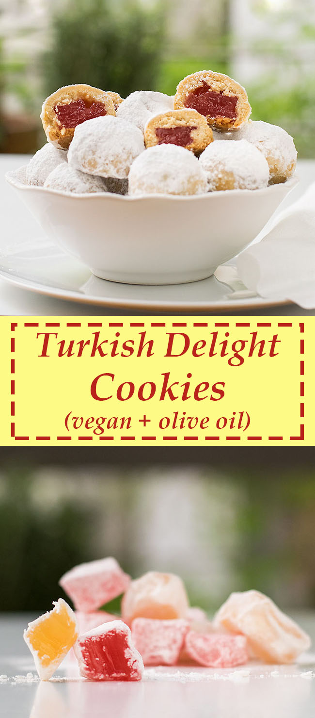 Turkish delight filled cookies 6