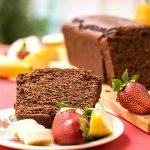 Olive oil & tahini Chocolate Cake 3