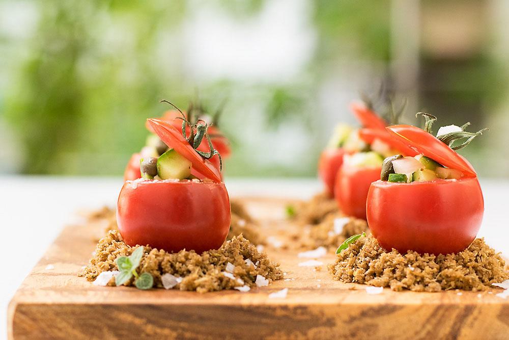 Authentic Greek Salad 2 ways 4