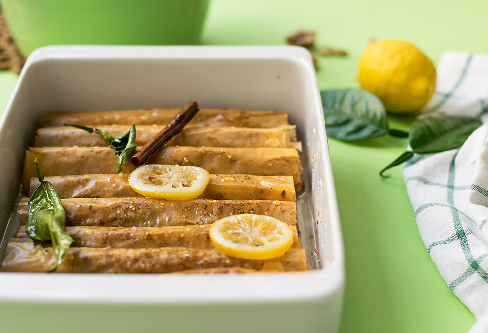 Olive oil Baklava Fingers 6