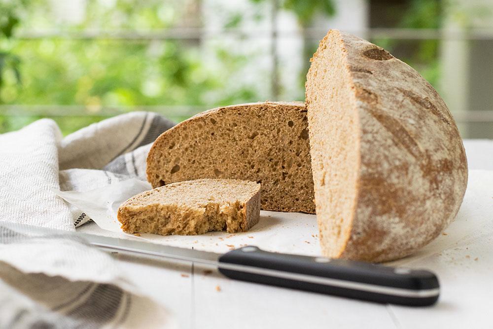 Raisin water starter sourdough bread 6