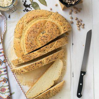 Chickpea Starter Cretan Traditional Bread (Eftazimo) f