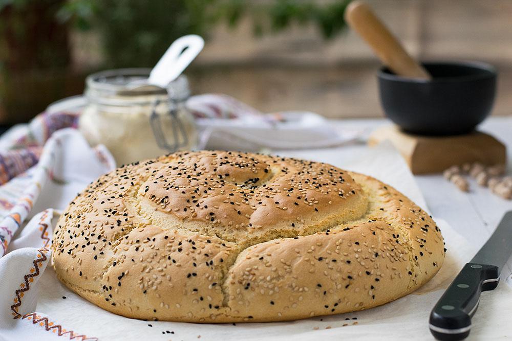 Chickpea Starter Cretan Traditional Bread (Eftazimo) 7
