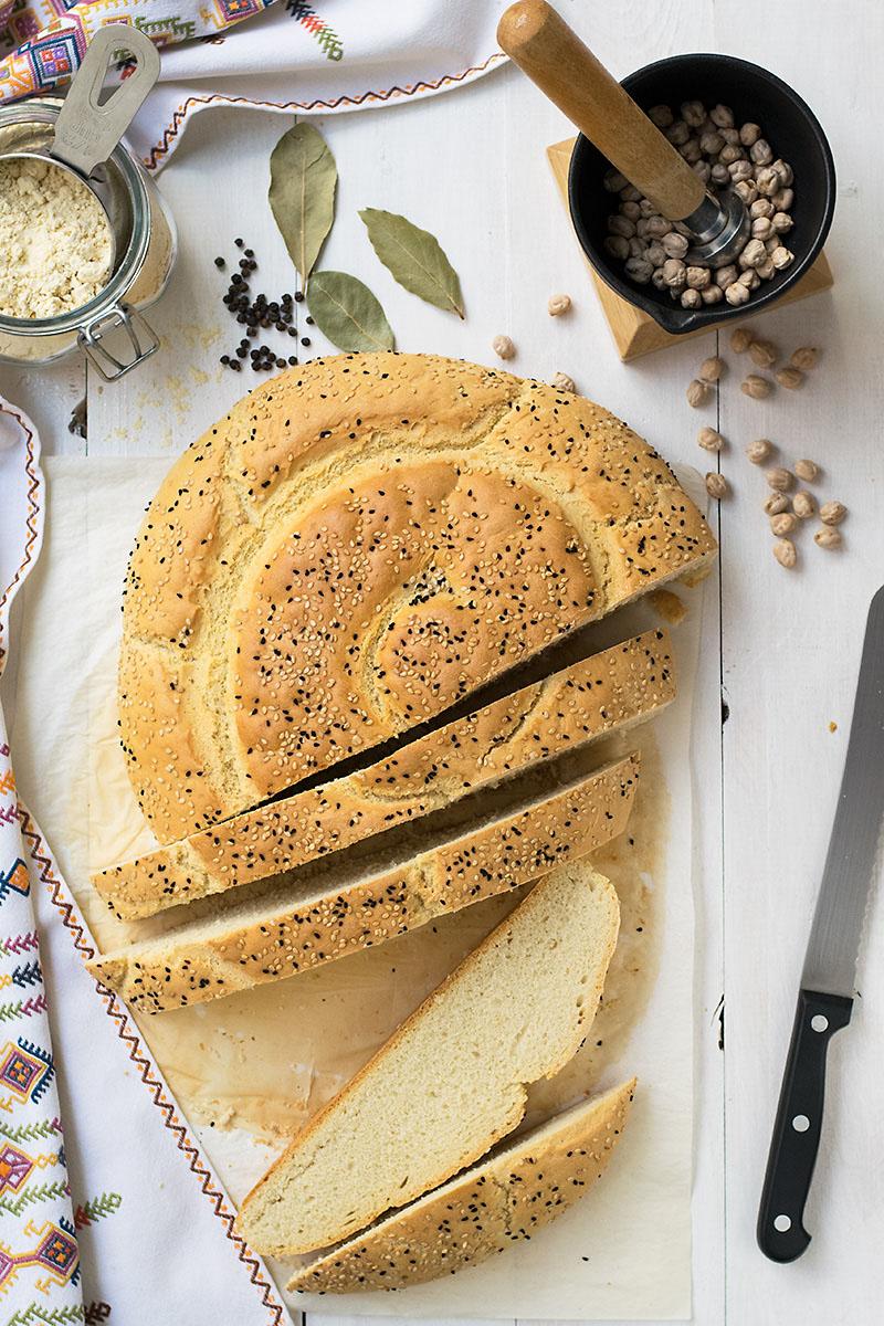chickpea starter cretan traditional bread eftazimo