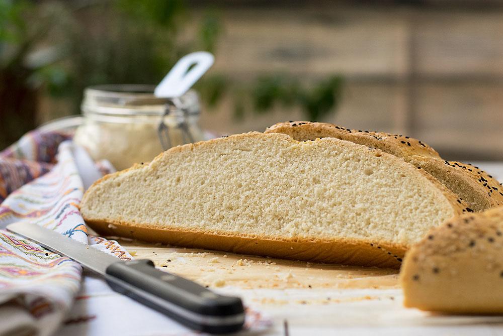 Chickpea Starter Cretan Traditional Bread (Eftazimo) 9
