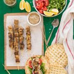 Greek Pork Skewers (Souvlaki) f