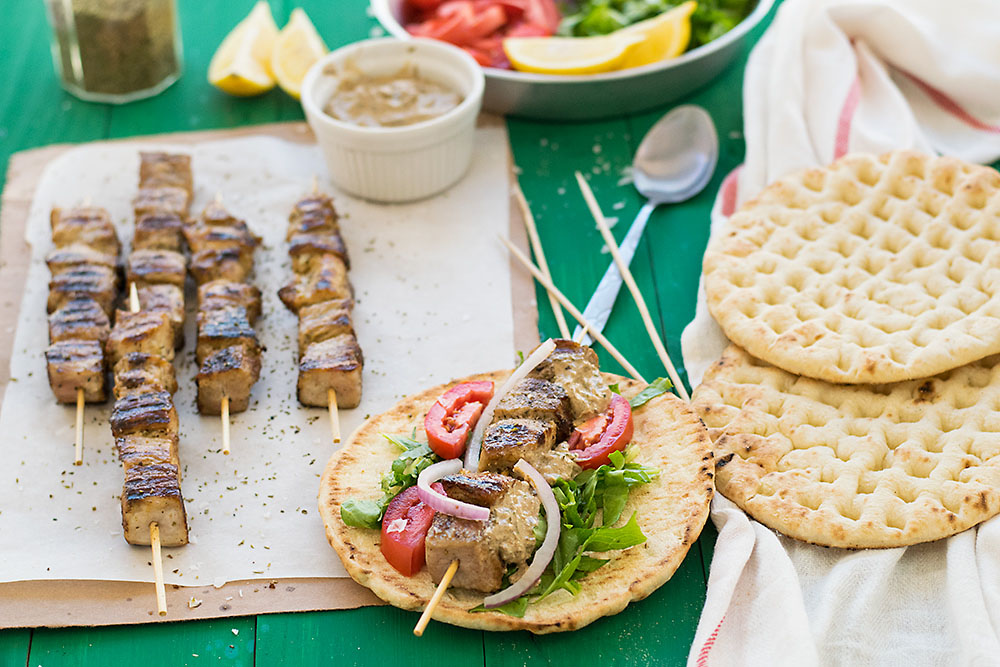 Greek Pork Skewers (Souvlaki) 4