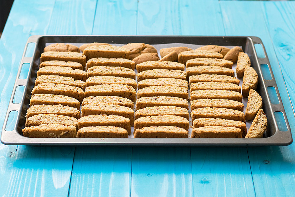 Cretan almond biscotti (Kalorizika) 3