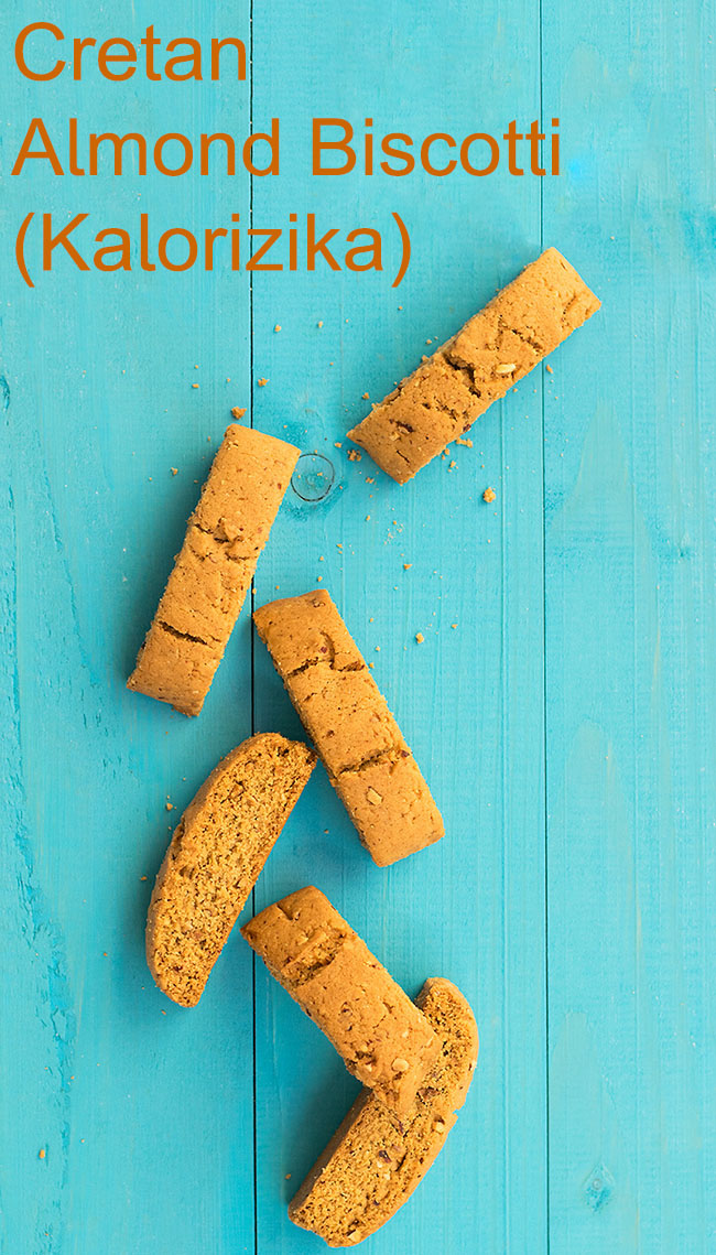 Cretan almond biscotti (Kalorizika) 6