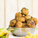 Juicy Greek fried meatballs (keftedes) f3