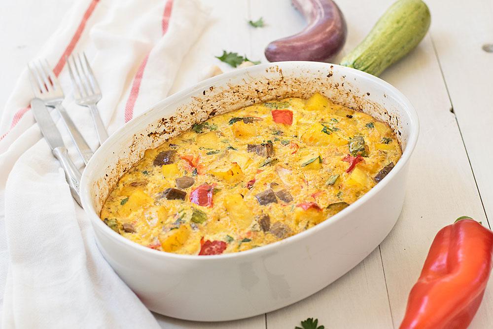 Mediterranean Baked Frittata 6