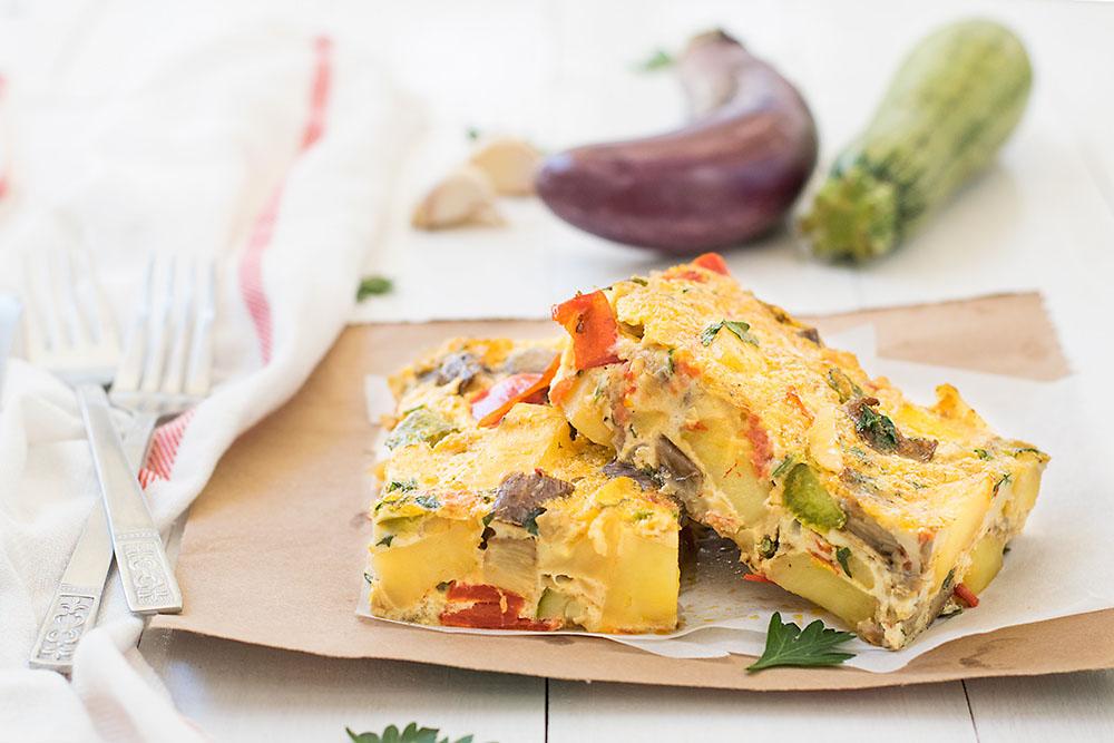 Mediterranean Baked Frittata 7