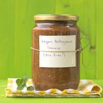 Soy-free & protein-rich vegan Bolognese sauce for pasta f